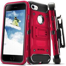 iPhone 7 Case, Evocel Trio Pro Premium Hybrid Tri-Layer Protector w/ Belt Clip