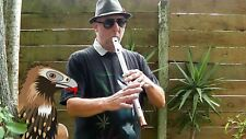 Pouakai II, Tuneable Aluminum Low-Eb Penny Whistle, handcrafted by Takahe Flutes
