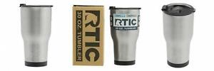 RTIC (191) Double Wall Vacuum Insulated Tumbler, 30 30 oz, Stainless Steel
