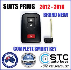 SUITS TOYOTA PRIUS C V SMART PROXIMITY KEY  2012 2013 2014 2015 2016 2017 2018