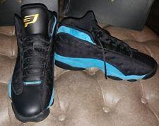 Jordan Retro XIII 13 CP PE Black Blue Chris Paul 823902-015 Sz 12