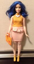 Barbie Doll Curvy Clothes: Top, Skirt, Thigh High Stockings, Jewelry, Bag, Boots