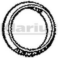 Klarius Exhaust Gasket 410498 - BRAND NEW - GENUINE - 5 YEAR WARRANTY