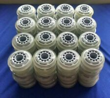 Lot of 96 Rollerblade Inline Fitness Hockey Skate Wheels 70mm 78A (Clear)