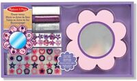 Melissa and Doug Decorate-Your-Own Wooden Flower Mirror - (BNIB) - 14586