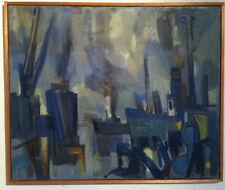 Belle huile sur toile de Jean Cornu (1915-2009).(ami de Mouly)Venard,Chevolleau