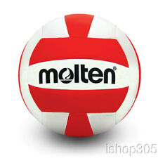 Molten Recreational Camp Volleyball Official Size 5 Red/White MS500-RED