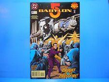 BABYLON 5 #2 of 11 1995 DC Comics Uncertified STRACZYNSKI Based on TV Series