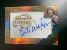 2011-12 GOLD STANDARD BILL WALTON PATCH AUTO AUTOGRAPH CLIPPERS 30/99 BLAZERS