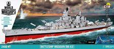 COBI Battleship USS Missouri (BB-63)  / 3084 / 2400 blocks WWII US Army ship
