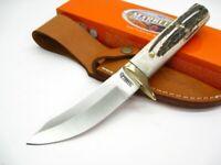 Marbles MR531 Stag Fixed Full Tang Skinner Skinning Hunting Knife + Sheath