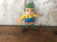 Vintage Imperial Rubber Toy , Jack In The Box Prize , Dutch / Swedish Man
