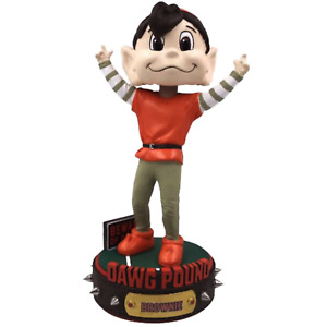 Brownie Elf Cleveland Browns Dawg Pound Series Bobblehead NFL New in box