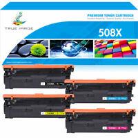 4PK Toner Compatible for HP 508X CF360X LaserJet Enterprise MFP M577 M553 M553dn