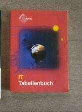 Informatik IT Tabellenbuch Studium Ausbildung Lehrmittel