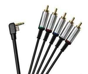 6ft Premium Component AV TV HDTV Cable Lead Cord For Sony PSP Slim 2000/3000