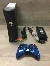 Microsoft Xbox 360 S 250Gb Black Console Bundle