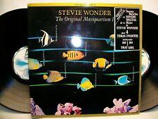 STEVIE WONDER THE ORIGINAL MUSIQUARIUM I VINYL 2 LP'S