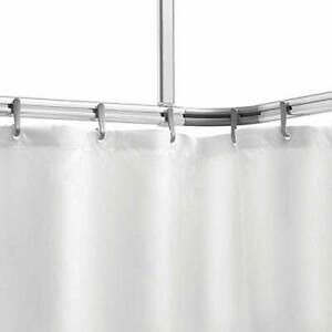 Easy Roll | Aluminium and Plastic Curtain Rail & Hooks & Ceiling Support