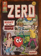 ZERO #3 ~ VF- 1976 ZERO LAST GRASP UNDERGROUND WARREN COMIC ~ RARE HTF 1ST PRINT