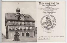 (15874) Foto AK Bad Staffelstein, Rathaus, Adam Ries, nach 1945