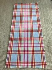 """IKEA Cotton Reversible Rag Rug Runner 71"""" x 30"""" Multi-Color blue/pink/red/green"""