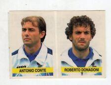 figurina - SUPERCALCIO 1994/95 PANINI - NUMERO P18 DONADONI MILAN CONTE JUVE
