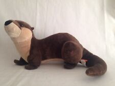 "Wild Republic Otter 16"" Brown Plush"