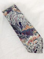 NWOT Ducks Wetland Tie Silk Gray