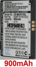 Batterie 900mAh Pour Mitac Explora K70 K75, P/N: 338937010173, E4MT101W1002