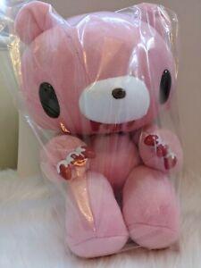 UK Chax GP Gloomy Bear plush Super Standard Pink Bloody 48cm Toreba Japan NEW
