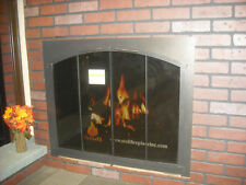 "Stoll Arch Conversion Fireplace Bifolding Doors Copper Vein, 36-3/4"" x 30-1/4"""