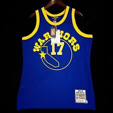 100% Authentic Chris Mullin Mitchell & Ness Warriors Jersey Size 44 L - curry