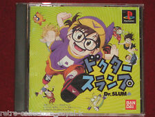 PS1 RARE Game DR. SLUMP NTSC-J Japan Import PlayStation Arale