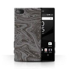 Étuis, housses et coques argentés Sony Xperia Z5 en métal pour téléphone mobile et assistant personnel (PDA)
