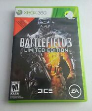 Battlefield 3 Limited Edition (Microsoft Xbox 360, 2011) Complete