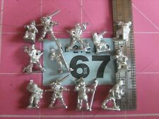 15mm Peter Pig Miniatures WotR  Wounded and Marker Infantry x 12  (B67)1/9