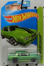 GREEN 1986 86 MONTE CARLO SS 230 STREET OUTLAWS DRAG RACE HW CHEVY HOT WHEELS
