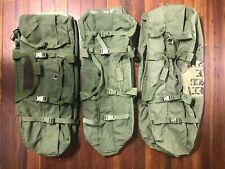 *Lot of 5* Usgi Enhanced Nylon Duffle Bag Backpack - Read Description