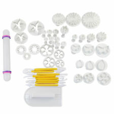 Sugarcraft Cake Decorating Set Baking Cupcake Fondant Icing Plunger Cutter Tool
