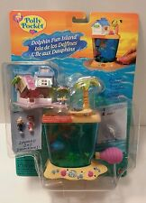 Polly Pocket Dolphin Fun Island 1997