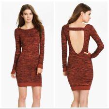 REBECCA MINKOFF Sz MEDIUM, Cashmere Silk Open Back Essef Sweater Dress