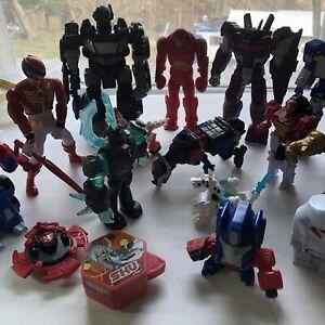 Vintage Action Figure,Toy Parts & Robots Large Lot 80's 90's