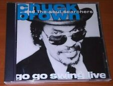 CHUK BROWN AND THE SOUL SEARCHERS-GO GO SWING LIVE CD U.S 1986