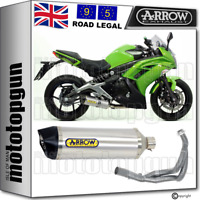 ARROW FULL SYSTEM EXHAUST CAT RACE-TECH CARBY ALUMINIUM KAWASAKI ER-6F 2012 12