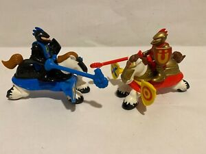 Vintage Fisher Price Great Adventures Jousting Knights