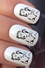 Las transferencias de uñas de agua Sketch Marilyn Monroe actriz cara Calcomanías Pegatinas * 661