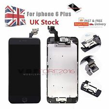 "For iPhone 6 Plus 5.5"" Screen Replacement LCD Touch Digitizer&Home Button Camera"