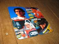 Ayrton Senna F1 Fórmula Uno Leyenda Bebidas Posavasos Juego #2
