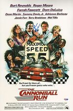 Burt Reynolds Signed Cannonball Run 11x17 Photo PSA/DNA COA Auto Picture Poster